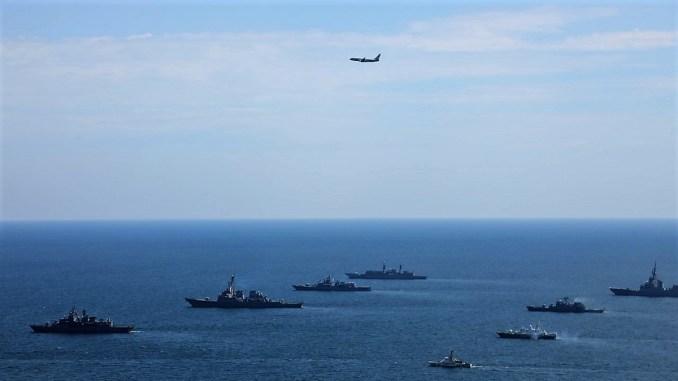 """Exercițiul """"Sea Breeze 20"""" la final. FOTO SMFN"""