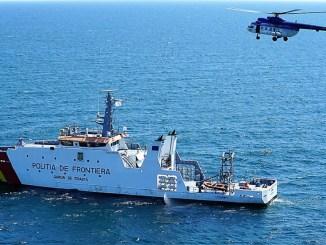 Polițiștii de frontieră constănțeni, la Operațiunea Maritimă cu Scopuri Multiple la Marea Neagră. FOTO Garda de Coastă