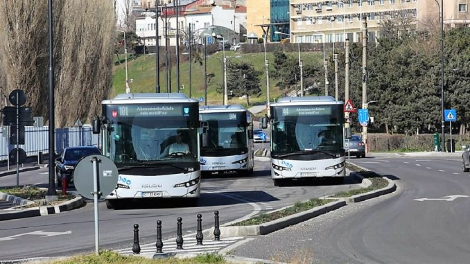 Traseul liniilor 44 și 51, deviat din cauza unei avarii a RAJA