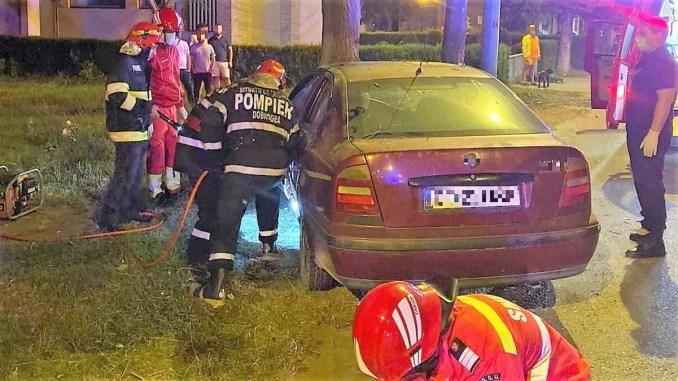 Accident rutier în Mamaia. FOTO IPJ Constanța