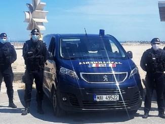 Jandarmii Grupării Mobile în misiune, în perioada 17 - 24 iulie