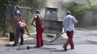 Lucrări de întreținere pentru străzi și parcări din Cernavodă.