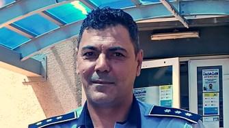 Șeful interimar al IPJ Constanța, Constantin Adrian Glugă. FOTO Paul Alexe