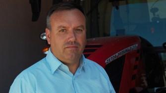 Viorel Petre, primarul din comuna Târgușor. FOTO Paul Alexe