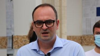 Dumitru Caragheorghe, candidat al USR la Consiliul Local Municipal Constanța. FOTO Adrian Boioglu