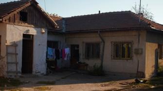 Locul unde va fi ridicat after-school-ul din Corbu. FOTO Paul Alexe