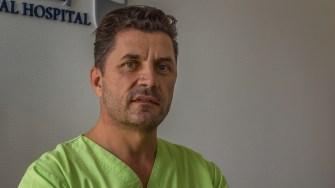 Dr. Ion Dragomirișteanu de la OCH. FOTO Paul Alexe
