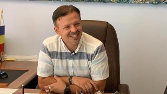 Viorel Ionescu, primarul orașului Hârșova. FOTO Paul Alexe