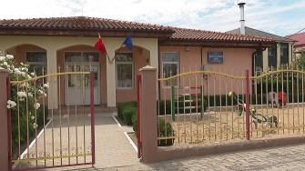 Grădinița din comuna Mihai Viteazu. FOTO Paul Alexe