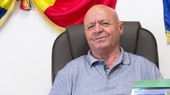 Gheorghe Grameni, primarul comunei Mihai Viteazu. FOTO Paul Alexe