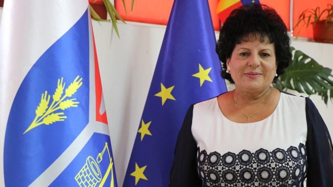 Mariana Gâju, primar al comunei Cumpăna. FOTO Adrian Boioglu