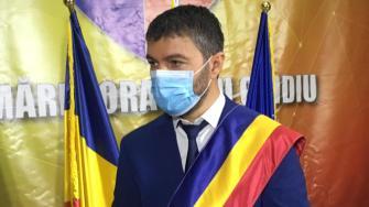 Primarul orașului Ovidiu, George Scupra