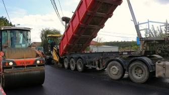 Străzi asfaltate la Cernavodă. FOTO Paul Alexe