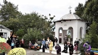 Ceremonie religioasă la Cumpăna. FOTO Primăria Cumpăna