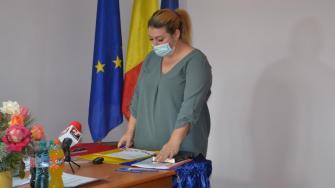Consilierii locali din Cumpăna au depus jurământul. FOTO CTnews.ro