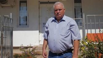 George Nicola, primarul comunei Aliman. FOTO Paul Alexe