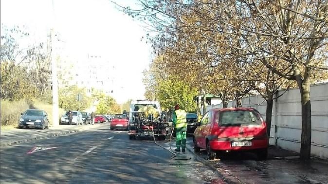 S-a încheiat curățenia și în cea de-a doua zonă de intervenție. FOTO Primăria Constanța