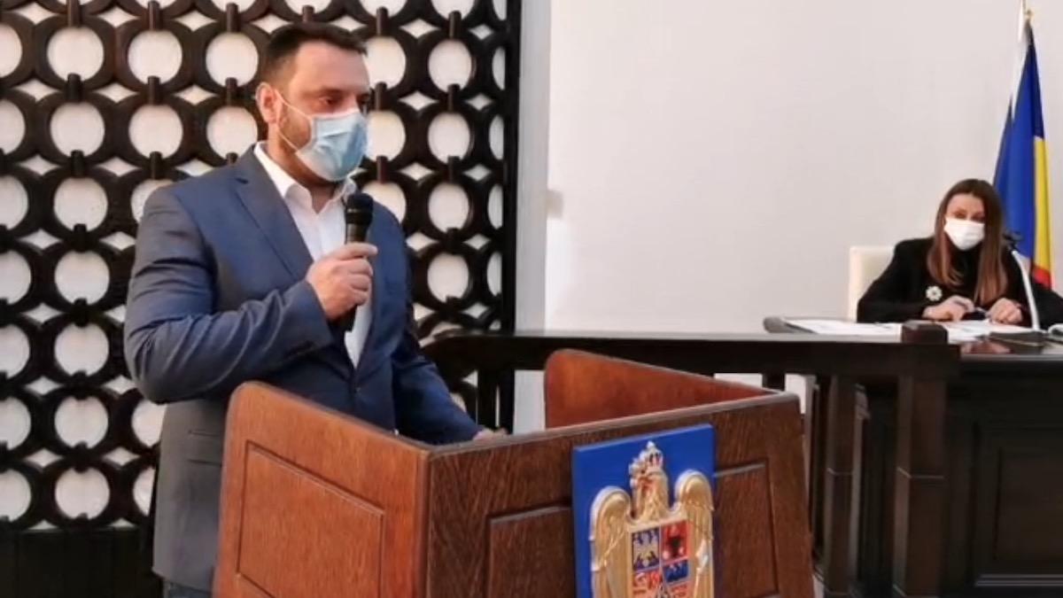Florin Cocargeanu, viceprimar al Constanței. FOTO Captură Video