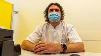Dr. Ovidiu Păguțe de la Clinica MedEuropa Constanța. FOTO Paul Alexe