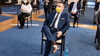 Ionuț Rusu, viceprimarul Constanței. FOTO Captură Video