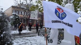 Eroii României, omagiați la Cumpăna de cu prilejul Zilei Naționale. FOTO Primăria Cumpăna