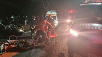 """Accident de circulație între Cobadin și Ciocârlia. FOTO ISU """"Dobrogea"""""""