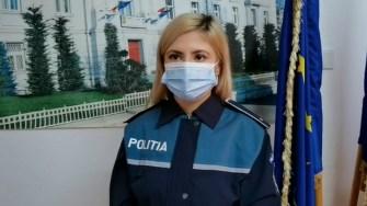 Andreea Iliescu, purtătorul de cuvânt al IPJ Constanța
