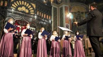 Corul mixt I.D.Chirescu din Cernavodă. FOTO Paul Alexe