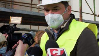 Ministrul Dezvoltării, Cseke Attila, în vizită la Cazinoul din Constanța. FOTO Paul Alexe
