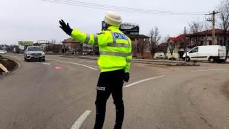 Acțiune a polițiștilor rutieri. FOTO IPJ Constanța