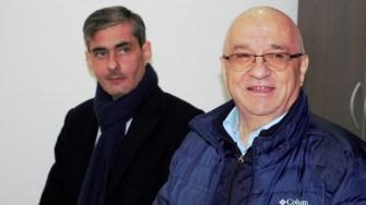 Deputatul PSD Lucian Lungoci și senatorul PSD Felix Stroe. FOTO Paul Alexe