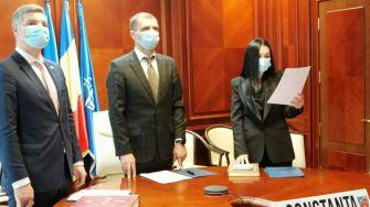 Ceremonie de învestire în funcție a prefectului și subprefecților Constanței