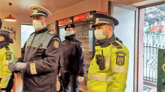 Acțiuni de verificare a respectării măsurilor impuse în contextul pandemiei. FOTO IPJ Constanța