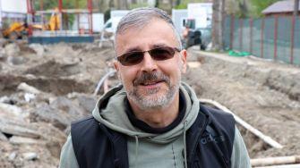 Directorul Complexului Muzeal de Științe ale Naturii Constanța, dr. Adrian Bâlbă, FOTO Adrian Boioglu