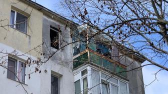 Explozie într-un bloc din Constanța. FOTO CTnews.ro