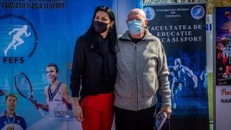 Narcișa Lecușanu și Dumitru Muși. FOTO Paul Alexe