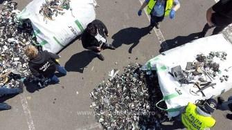 Zece containere încărcate cu deșeuri, depistate în Portul Constanţa Sud Agigea
