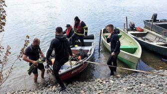 Bărbat căutat în apele Dunării, la Vadu Oii, după ce ar fi căzut din barcă. FOTO ISU Constanța