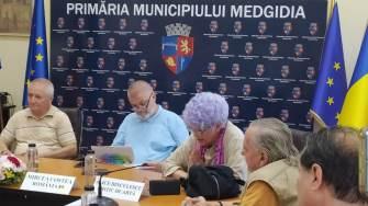 Ceremonia de deschidere a taberei de pictură de la Medgidia. FOTO Victor Radu