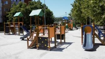 Primăria Cernavodă modernizează locurile de joacă din oraș. FOTO Paul Alexe