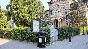 Noile coșuri pentru gunoi din oraș. FOTO Primăria Constanța