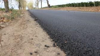 Drumul Aliman - Dunăreni a fost reabilitat. FOTO Adrian Boioglu