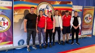 Delegația CSO Ovidiu la Campionatele Naționale de Haltere pentru juniori și junioare. FOTO CSO Ovidiu