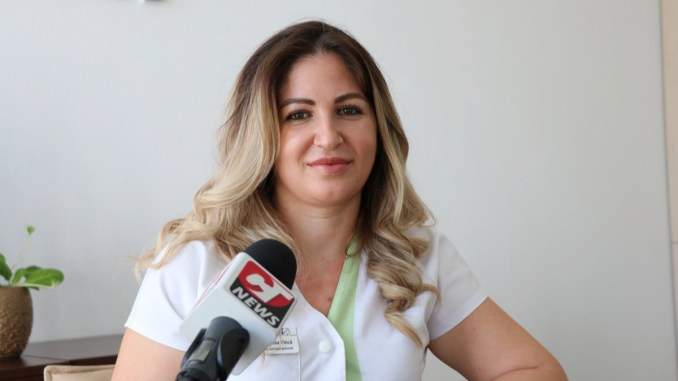 Dr. Alina Vîncă, Medic primar chirurgie generală - Ovidius Clinical Hospital. FOTO Adrian Boioglu
