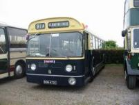 BON472C ex Birmingham City Transport Daimler Fleetline saloon
