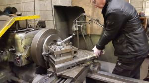 Cardiff 33735 wear plate machining