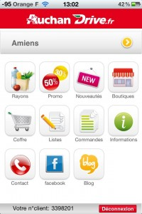 acceuil appli iphone auchandrive