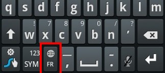 clavier samsung galaxy s2