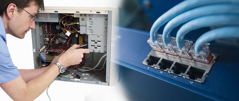 Downers Grove Illinois On Site Computer PC & Printer Repairs, Network, Voice & Data Cabling Technicians