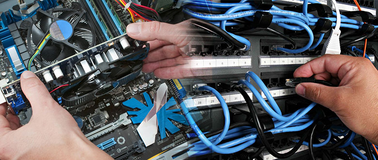 Warner Robins Georgia Onsite Computer PC & Printer Repair, Network, Voice & Data Cabling Contractors